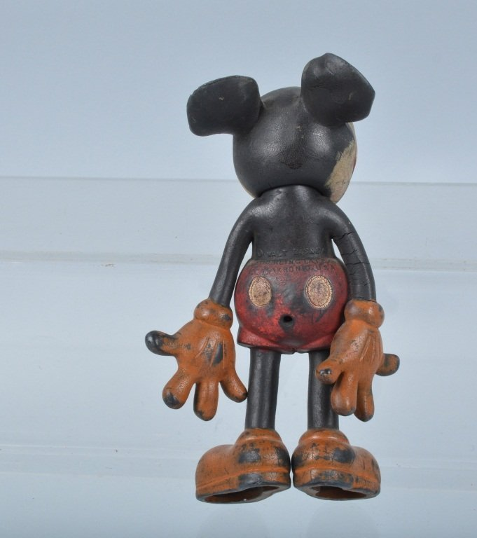 lot of 4 SEIBERLING RUBBER MICKEY MOUSE TOYS - 6
