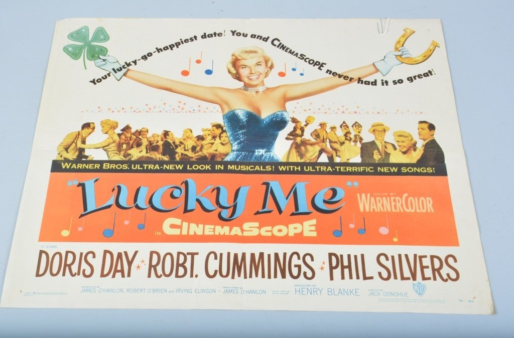 LUCKY ME 1/2 SHEET MOVIE POSTER