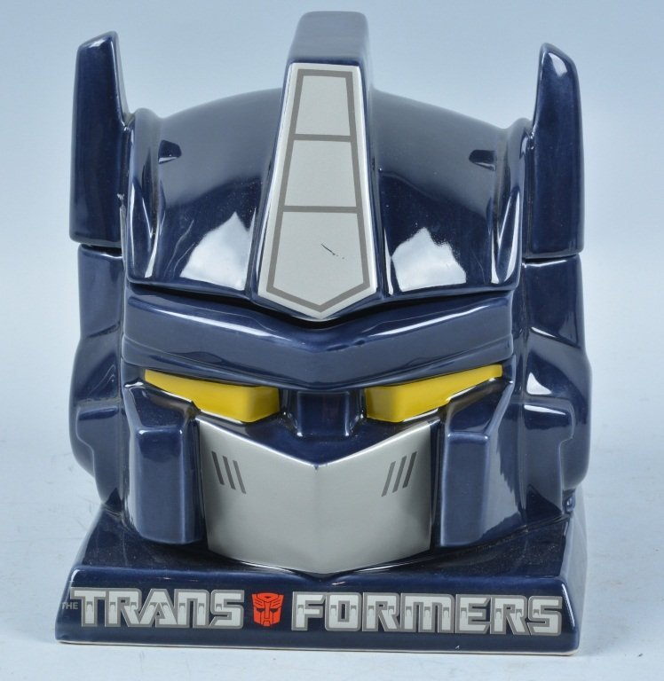 Vintage TRANSFORMERS COOKIE JAR