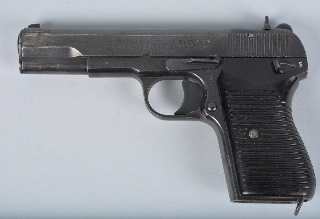 Firebird Parabellum 9mm Pistol, West Germany