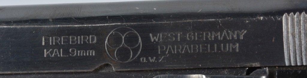 Firebird Parabellum 9mm Pistol, West Germany - 3