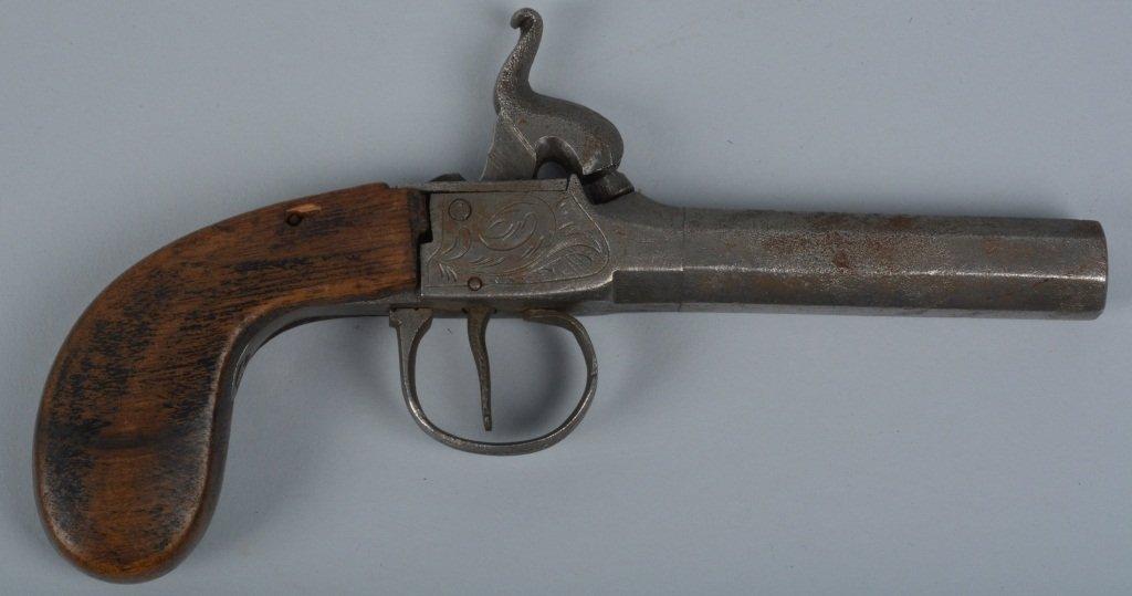 BELGIAN SINGLE SHOT PERCUSSION circa 1850