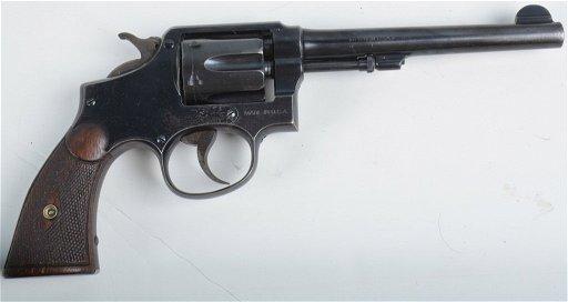SMITH & WESSON 1917 5 Screw 38 SPECIAL REVOLVER