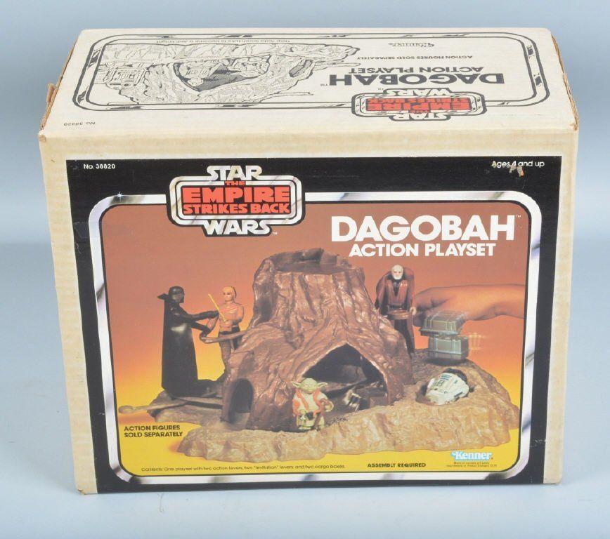 STAR WARS Empire Strikes DAGOBAH ACTION PLAYSET