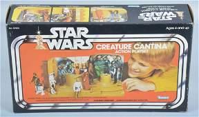 1977 KENNER STAR WARS CREATURE CANTINA w/ BOX