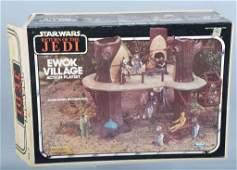 RETURN OF THE JEDI EWOK VILLAGE PLAYSET w/BOX
