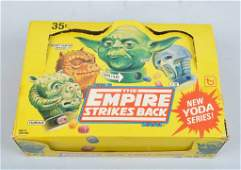 TOPPS THE EMPIRE STRILES BACK CANDY w/ STORE BOX