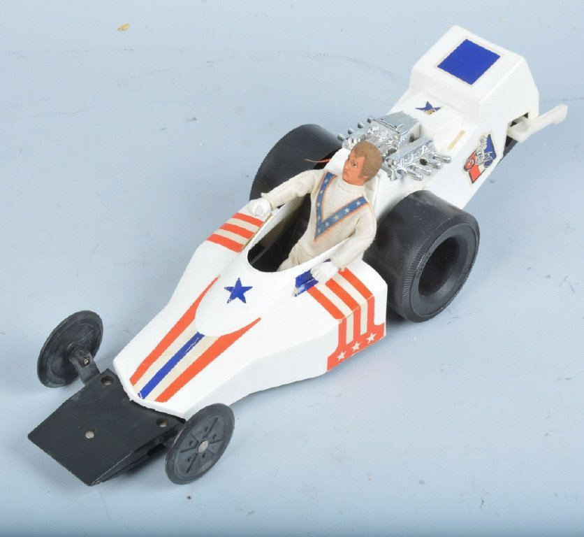 IDEAL EVEL KNIEVEL FORMULA 1 DRAGSTER w/ BOX - 2