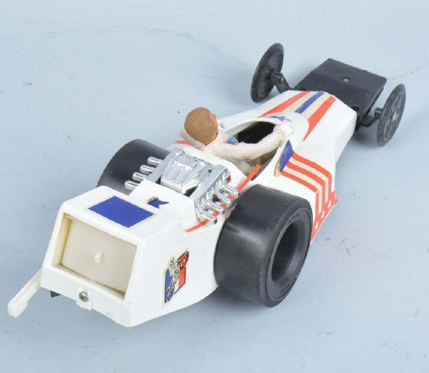 IDEAL EVEL KNIEVEL FORMULA 1 DRAGSTER w/ BOX - 3