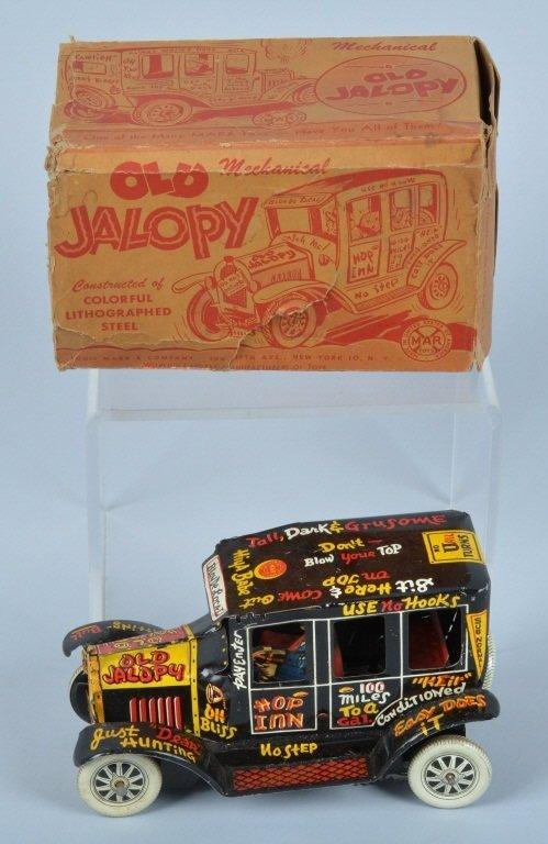MARX Tin Windup OLD JALPOY w/ BOX