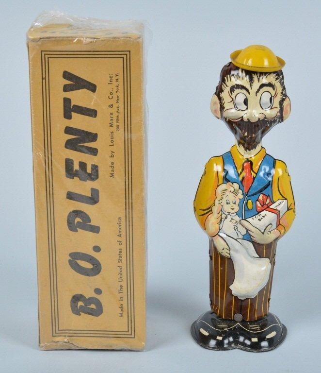 MARX Tin Windup BO PLENTY & SPARKLE w/ BOX