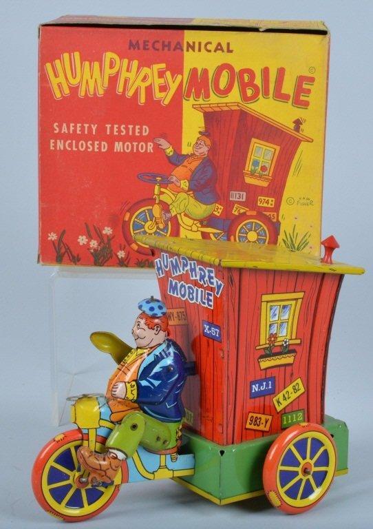 WYANDOTTE Tin Windup HUMPHERY MOBILE w/BOX