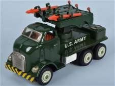JAPAN Tin Friction US ARMY MISSILE TRUCK