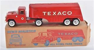 BUDDY L TEXACO TANKER TRUCK w/ BOX