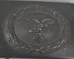 Nazi German Luftwaffe Belt Buckle