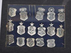 Lot Of 16 Usaf Medical Badges
