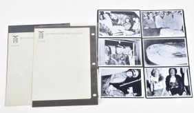 Ww2 Archive Of Mussolini & Stationary
