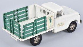 Tonka Green Giant Stake Bed Truck