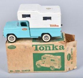 Tonka #530 Camper W/ Box