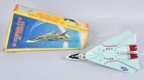 Japan Battery Op Grumman F111a Fighter Jet W/box