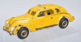 Hubley Cast Iron Yellow Cab