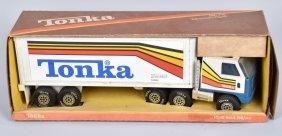Tonka Long Haul Rig W/ Box