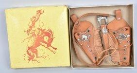 Cowboy Holster Set W/ Box