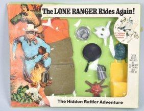 Hubley Lone Ranger Hidden Rattler Set Mib