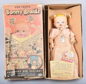 Ideal Dick Tracy's Bonny Braids Doll W/ Box