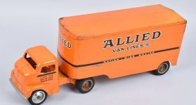 Tonka Allied Van Lines Moving Truck