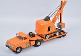 Tonka State Highway Low Boy & Shovel