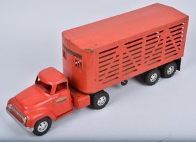 Tonka Cattle Semi Truck