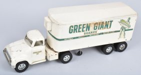 Tonka Green Giant Semi Truck