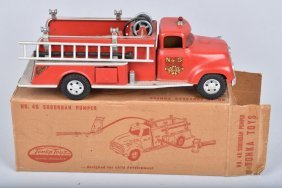 Tonka #46 Suburban Fire Pumper W/ Box