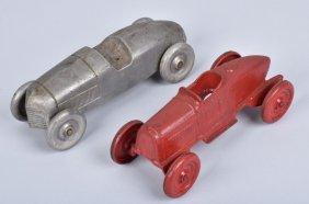 2- Cast Metal Race Cars
