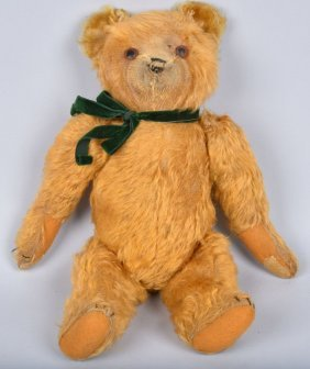 Early German 5 Joint Mohair Teddy Bear