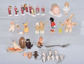 Large Lot Of Dolls, Figures And More