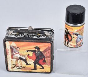 Zorro Lunch Box With Thermos