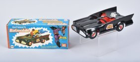 Mego Batman Batmobile Mib