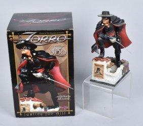 Electric Tiki Design Zorro Statue Le Of 500