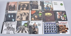 Lot Of 14 Beatle Cd's Re-issues Of Old Albums