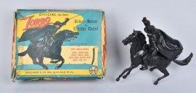 Marx Official Walt Disney Zorro On Horse+box