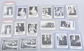 14 60's Leaf Munsters 2 Lost In Space Cards