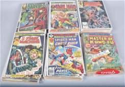 90  VINATGE COMIC BOOKS SUPERMAN BATMAN  MORE