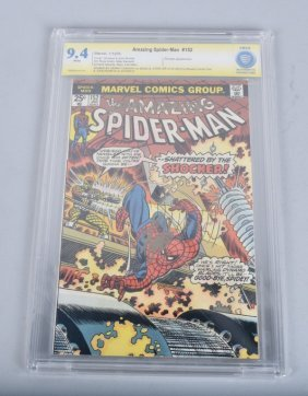 Cbcs Graded Spiderman #152 Signed Stan Lee & More