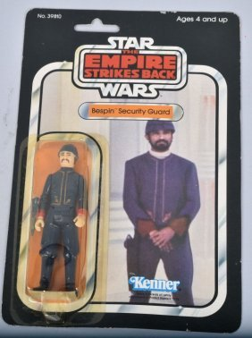 1980 Star Wars Esb 31-a Bespin Security Guard Moc*