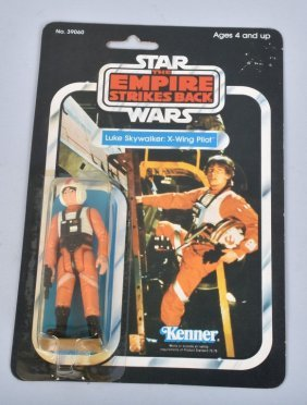 1980 Star Wars Esb 31-a Luke Skywalker Pilot Moc*