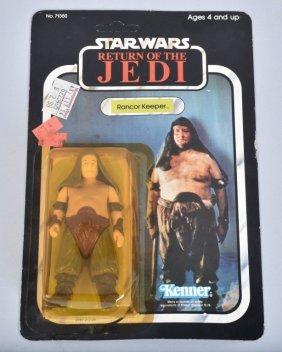 1983 Star Wars Rotj 77-a Rancor Keeper Moc