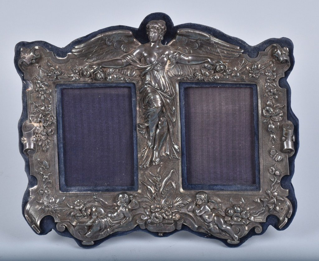 19th Century DEPON GUSTOV GROHE STERLING FRAME