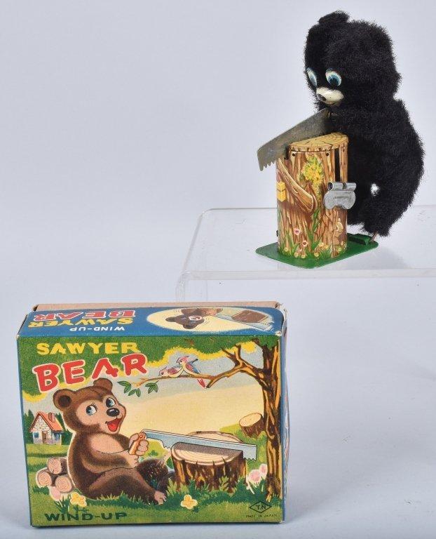 TN Windup SAWYER BEAR w/BOX